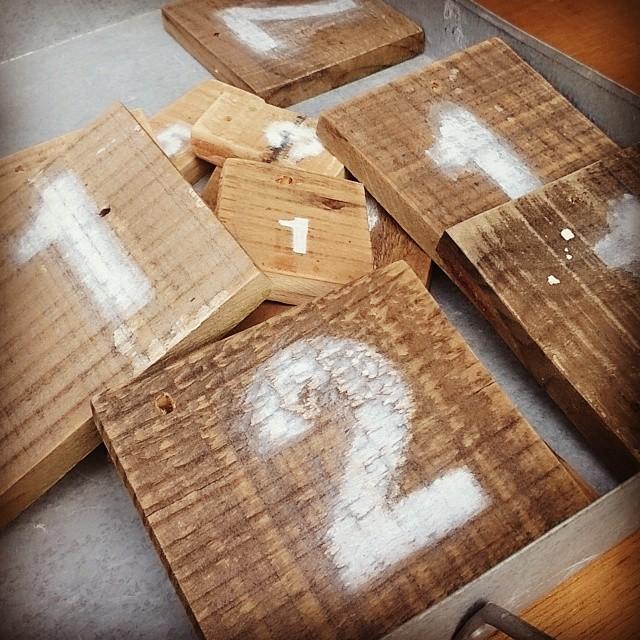 木のナンバープレート#木工#手作り#ハンドメイド#手作り市