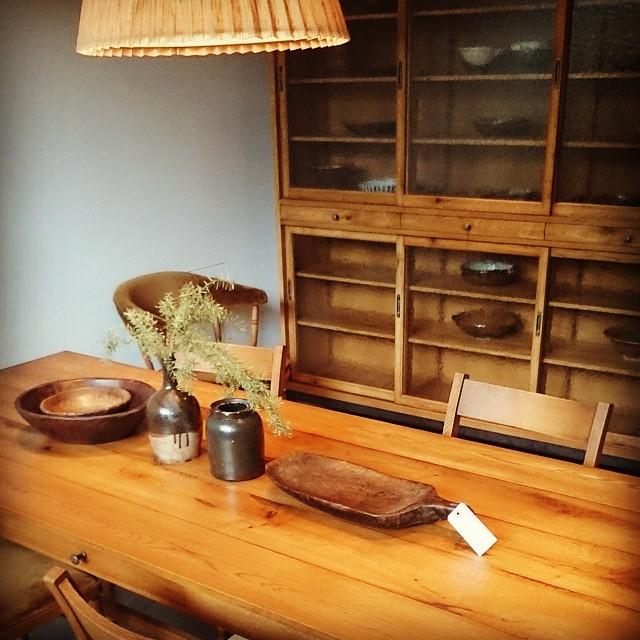 蔦屋書店にて# TRUCK#家具#テーブル#ソファー#椅子
